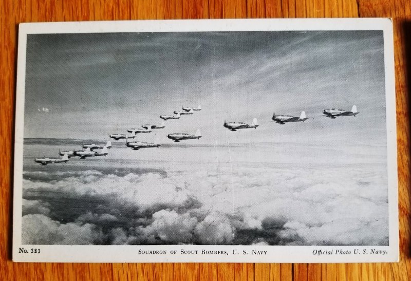 6 Military Post cards from WW II era