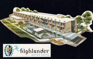 CALGARY , Alberta , Canada , 1950-60s ; Highlander Motor Hotel