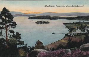 The Islands from above Luss, LOCH LOMOND, Scotland, 00-10s