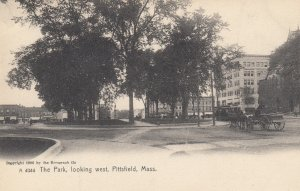 PITTSFIELD, Massachusetts, 1901-07; The Park, looking West