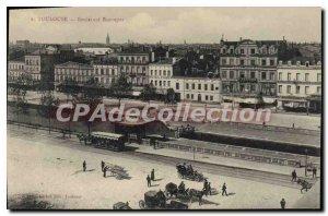 Postcard Old Toulouse Boulevard Bosrepos