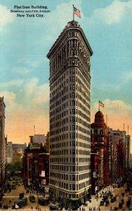 New York City Flat Iron Building Curteich