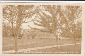 RP: NAMPA , Idaho , 20-30s ; Admin Bldg , NAZARENE College