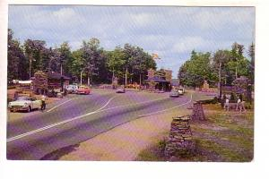 Cars at Entrance, Algonquin Park, Ontario, Fry's Photo