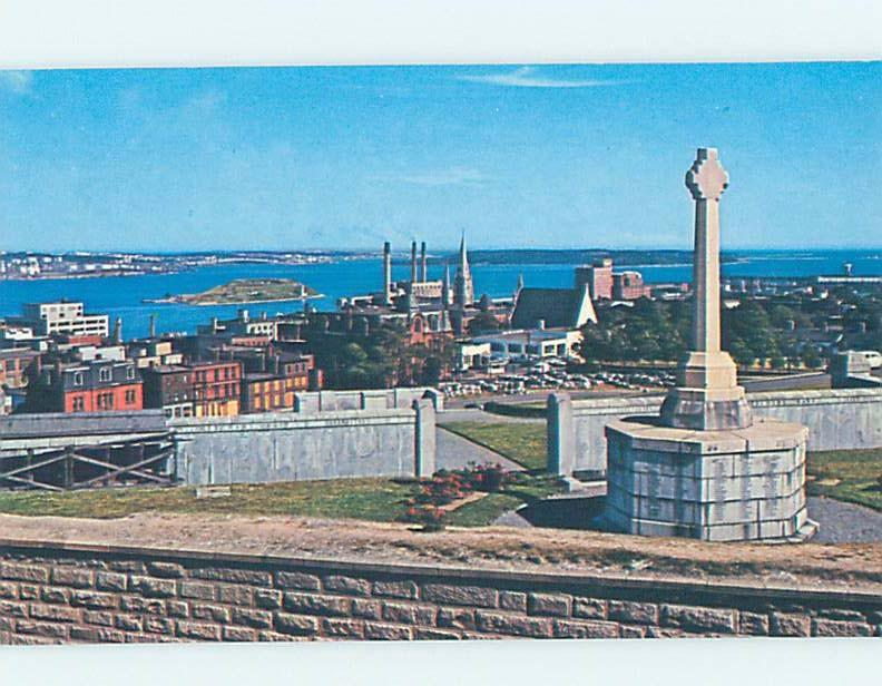 Pre-1980 VIEW FROM THE CITADEL Halifax Nova Scotia NS F9253