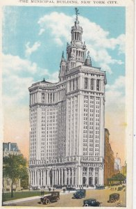 NEW YORK CITY, New York, 1900-10s; The Municipal Building