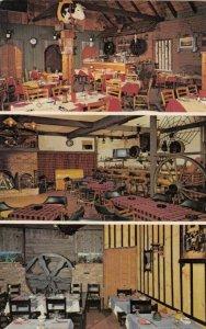 GRANBY , Quebec, Canada, 1987; Restaurant Au Sabot Drive, 3-views