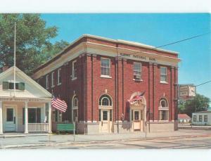 Pre-1980 BANK BUILDING Norway - Near Bethel & Lewiston Maine ME E4729