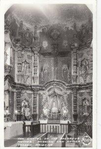 RP: TUCSON , Arizona , 1940s ; Mission San Xavier, Chapel ; FRASHERS