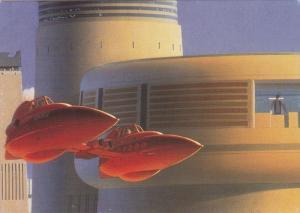 STAR WARS ; 1996 ; Bespin Twin-Pod Cloud car