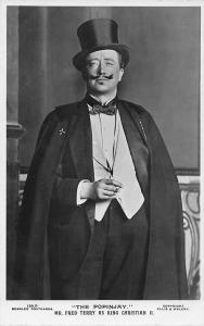 Edwardian Era Actor The Popinjay Mr Fred Terry as King Christian II