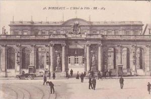 France Bordeaux L'Hotel de Ville