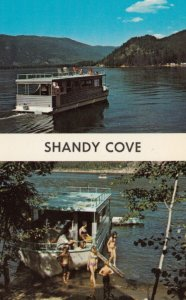 SICAMOUS , B.C. , Canada , 1950-60s ; Shandy Cove , House Boats
