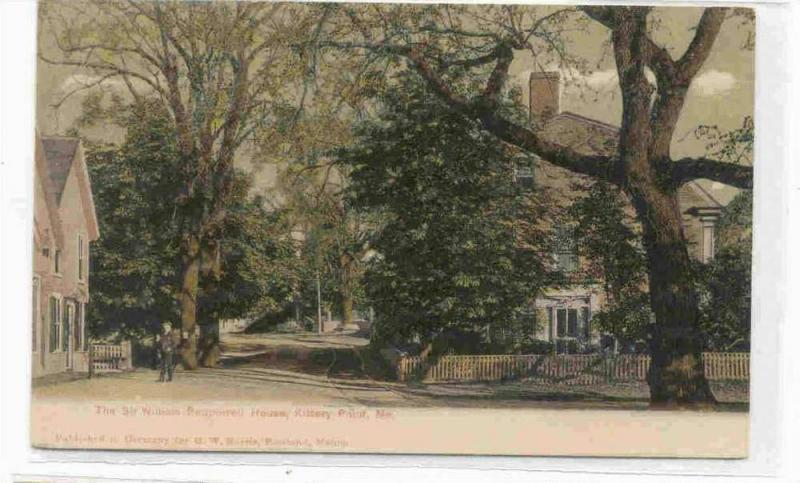 The Sir William Pepperrell House, Kittery Point,  Maine PU-00-10