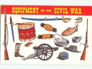 Pre-1980 Military EQUIPMENT OF THE CIVIL WAR AC6064-12