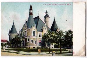 MI - Post Office, Saginaw