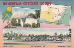 Florida Homestead Cottage Court With Map