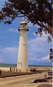 MS - Biloxi. Historic Old Biloxi Light Lighthouse