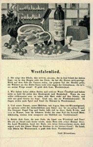 Germany Westfälisches Frühstück Westfalenlied 04.62