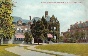 LP04 Cleveland Ohio  Tom L. Johnson's Residence  Postcard