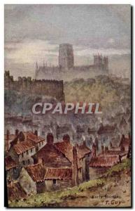 Postcard Old Durham Early Morning