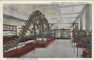 PITTSBURGH , Pennsylvania, 1925 ; Carnegie Museum, Dinosaurs