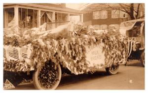 Massachusetts  New Bedford, Parade Car Float,  Celebrated Milk and Bread,  RPC