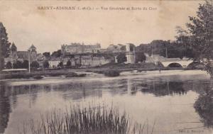 SAINT-AIGNAN, Vue Generale et Bords du Cher, Loir et Cher, France, 00-10s