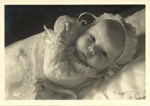 Dutch Princess Beatirx as a Baby (1938)