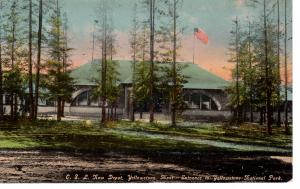 Ohio Short Line New Depot, Yellowstone National Park