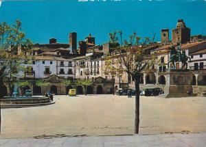 Trujillo , Spain , 50-70s ; Plaza Mayor