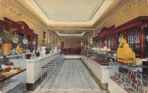 LPA45 Little Rock Arkansas Postcard Confectionary Ice Cream Parlor Cash Register