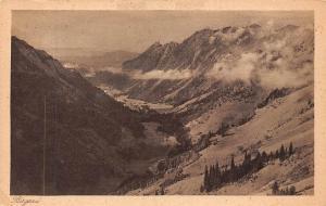Birgsau von der Petersalpe bei Oberstdorf Bayern Allgaeu Mountains Landscape