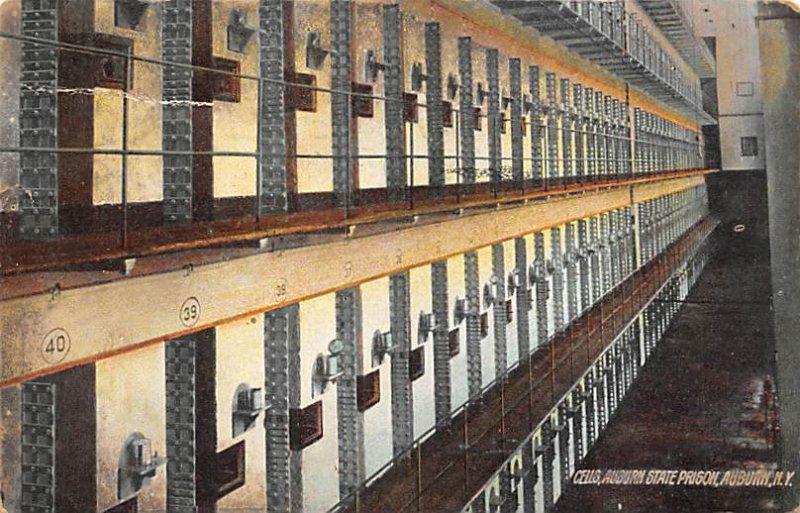 Cells, Auburn State Prison Auburn, New York, USA 1908