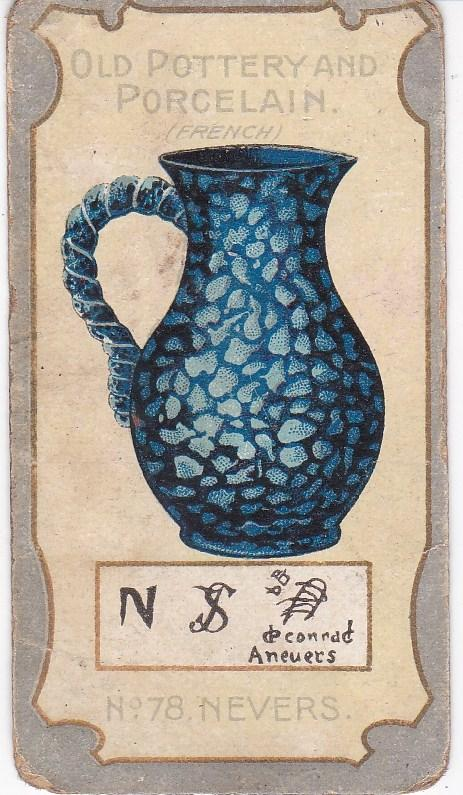 Cigarette Card R J Lea Chairman Old Pottery and Porcelain 2nd series No 78