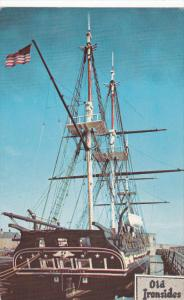 U.S.S. Constitution, Ship, Old Ironsides, Navy Yard, BOSTON, Massachusetts,...