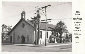 RP: PALM SPRINGS , California , 1947 ; Our Lady of Solitude Catholic Church