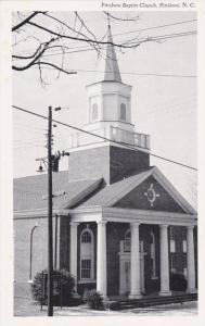 Exterior,  Pittsboro Baptist Church,  Pittsboro,  North Carolina,   40-60s