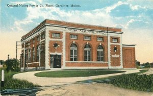 ME, Gardiner, Maine,  Central Main Power Company, Tichnor No. A-53795