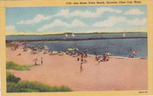 Massachusetts Cape Cod Sea Street Town Beach Hyannis Curteich