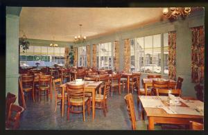 Bar Harbor, Maine/ME Postcard, Mary Jane Restaurant,Interior