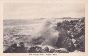 Massachusetts Rockport Surf At Cape Hedge Albertype