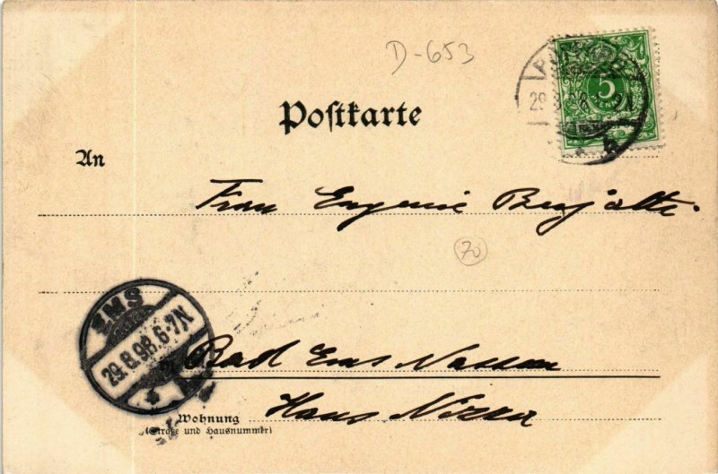 CPA AK Assmannshausen - Totalansicht GERMANY (910045)