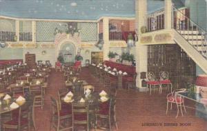 New York Rochester Casa Lorenzo Italian Restaurant Dining Room Chestnut Stree...