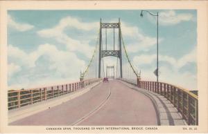 Thousand Islands International Bridge , Canadian Span , Ontario , Canada , 30...