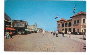 Ocean City New Jersey Boardwalk Music Pier Moorlyn theater BVntg NJ Postcard