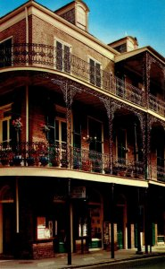 Louisiana New Orleans Delicate Lace Balconies Corner Of Royal and St Ann Streets