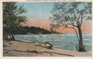NORTH BAY , Ontario , Canada , 1910-30s ; Lake Nipissing