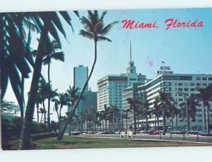 Pre-1980 BISCAYNE HOTEL ON BISCAYNE BOULEVARD Miami Beach Florida FL F7047