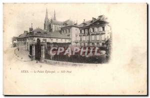 Sees Old Postcard The Episcopal Palace